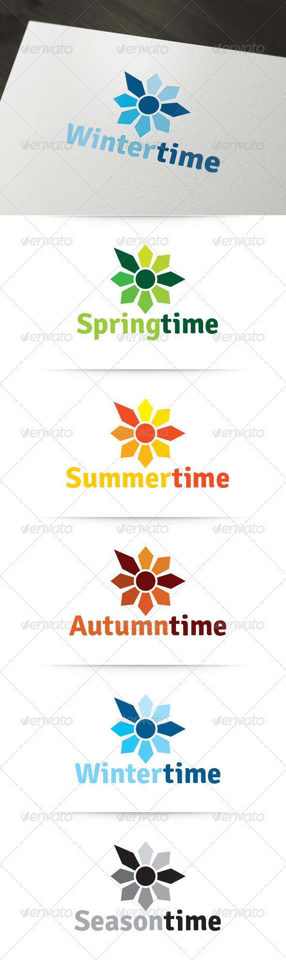 GraphicRiver Season Time Logo 6335111