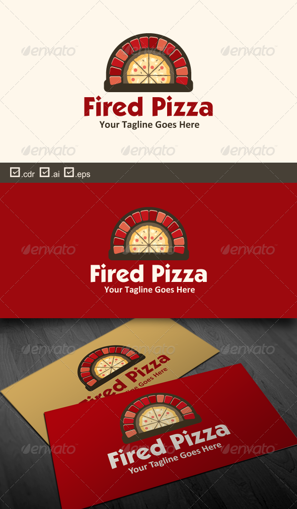 GraphicRiver Fired Pizza 6326408