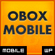Obox Mobile - WordPress Mobile Framework - ThemeForest Item for Sale