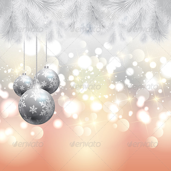 GraphicRiver Christmas Background 6336177