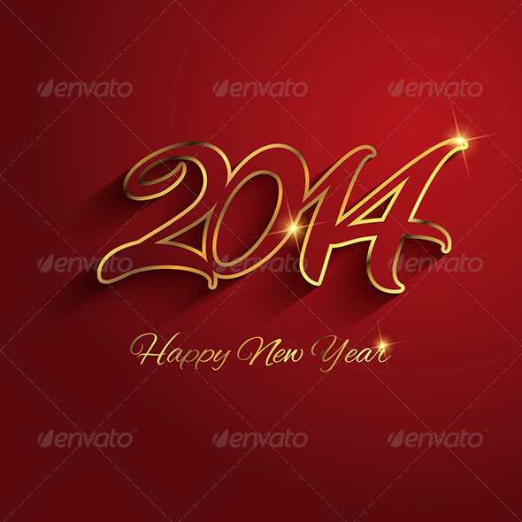 GraphicRiver Happy New Year Background 6336202