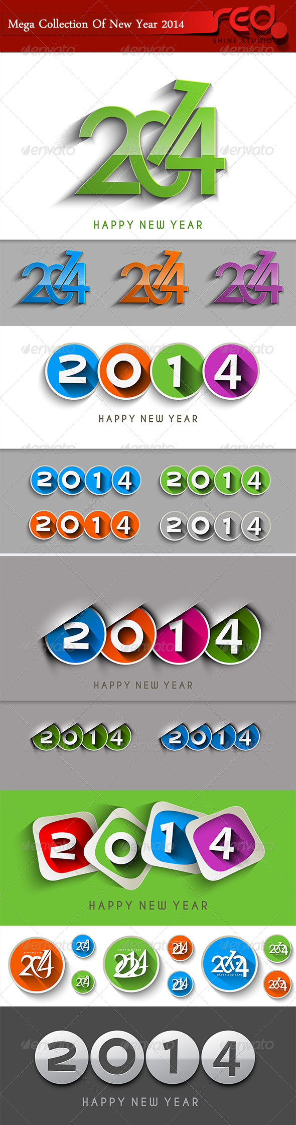 GraphicRiver Happy New Year 2014 6336208