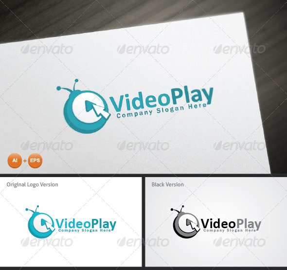 GraphicRiver Video Play Logo Template 6332860