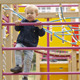 Little Boy on Playground Equipment - 32