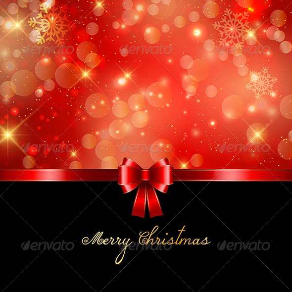 GraphicRiver Merry Christmas Background 6336534