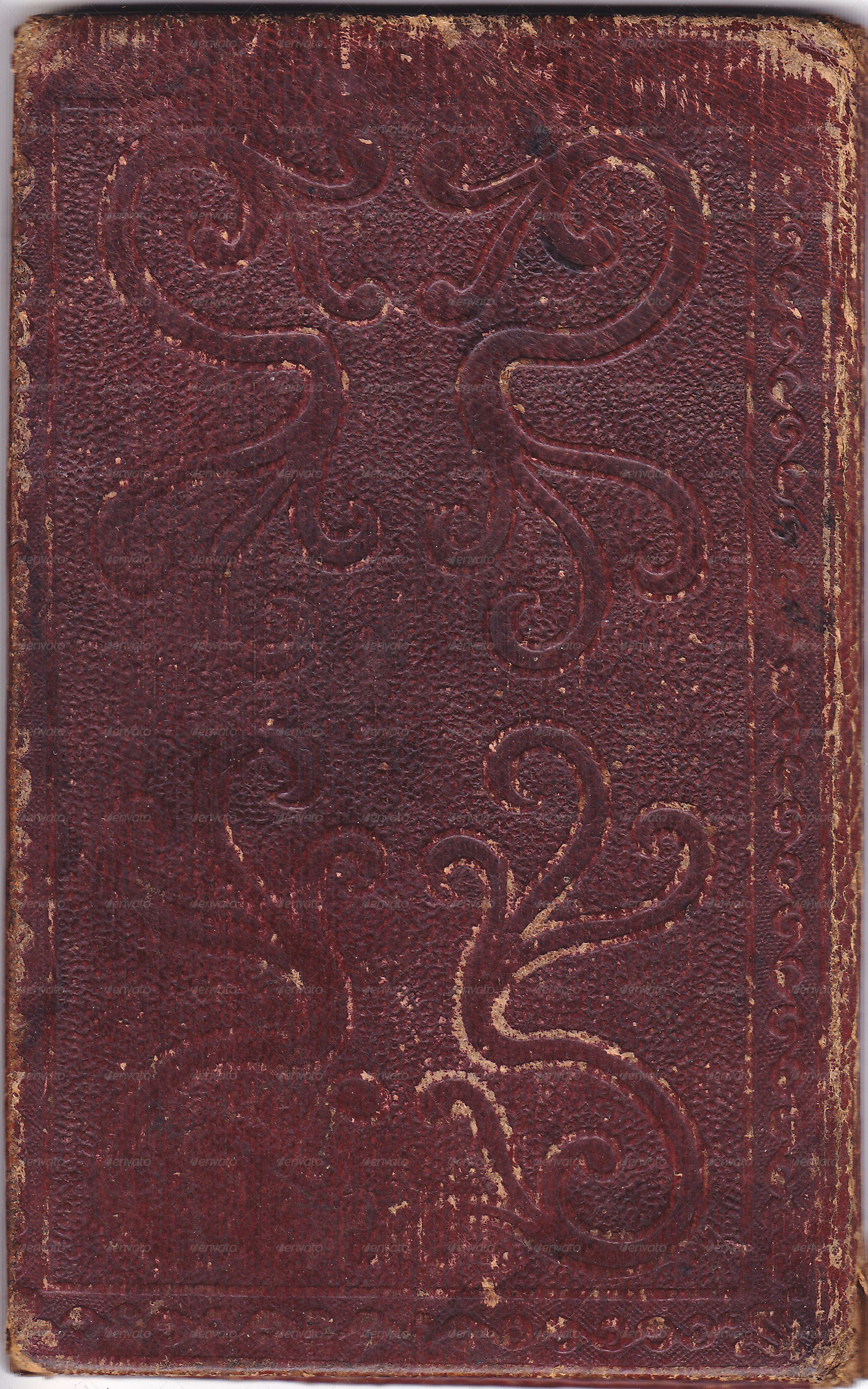 Old Brown Book Cover ~ Antique book cover by beachmedia graphicriver