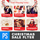 Christmas Holiday Season Sales Flyer  - GraphicRiver Item for Sale