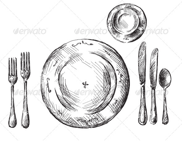 GraphicRiver Table Setting 6336613