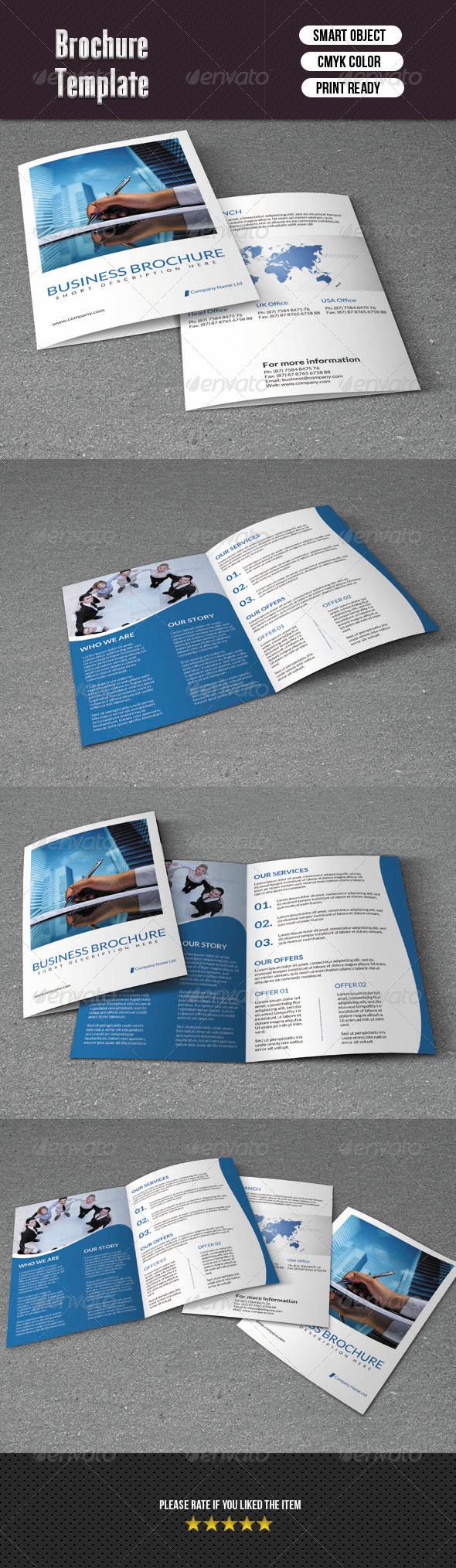 GraphicRiver Company Brochure-Bifold 6336617