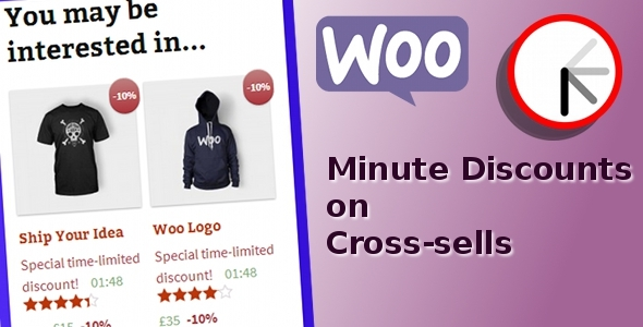 CodeCanyon WooCommerce Minute Discounts on Cross-sells 6337331