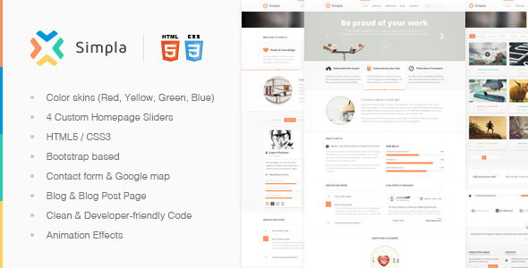 Simpla - Elegant Multipurpose Theme