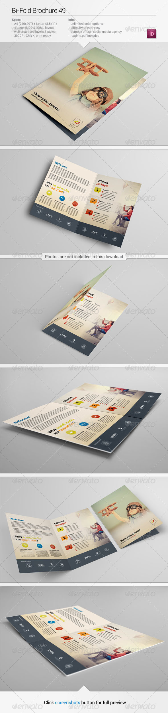 GraphicRiver Bi-Fold Brochure 49 6337806