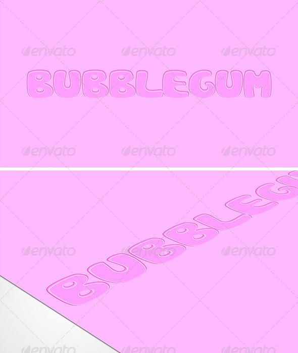 GraphicRiver Bubblegum Style 6338183