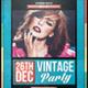Vintage Party - Flyer - GraphicRiver Item for Sale