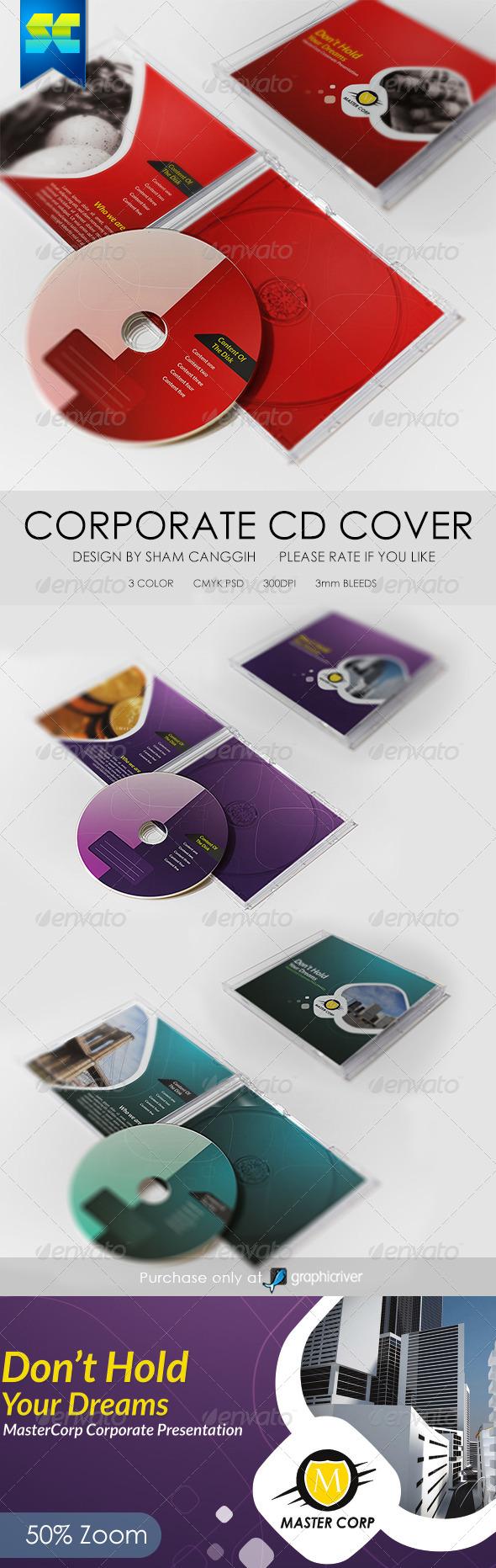 GraphicRiver Modern Corporate CD Cover Artwork 6339239
