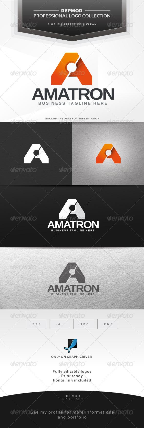 GraphicRiver Amatron Logo 6339339