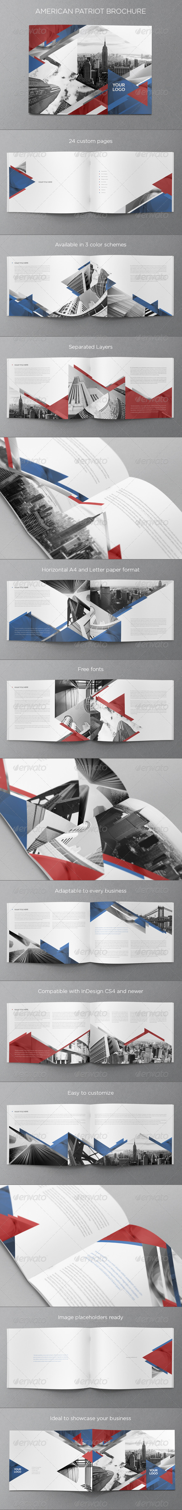 GraphicRiver American Patriot Brochure 6339354