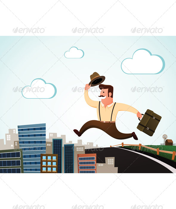 GraphicRiver Moving to The City 6339781