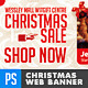 Christmas New Year Holiday Sale Web Banners - GraphicRiver Item for Sale