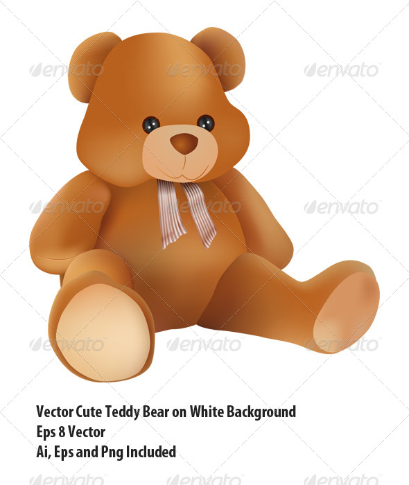GraphicRiver Teddy Bear 6339837