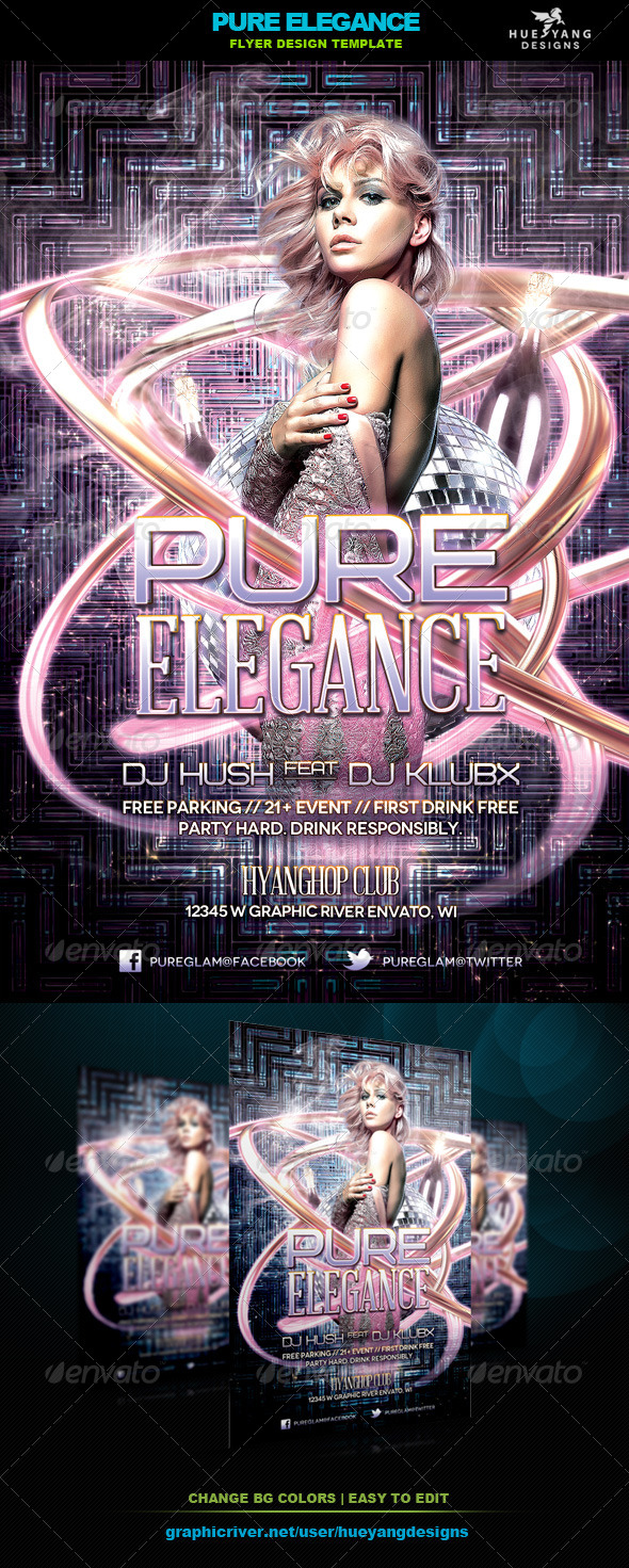 GraphicRiver Pure Elegance Flyer 6339896