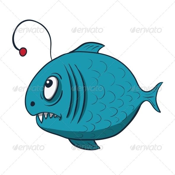 GraphicRiver Funny Cartoon Fish 6340903