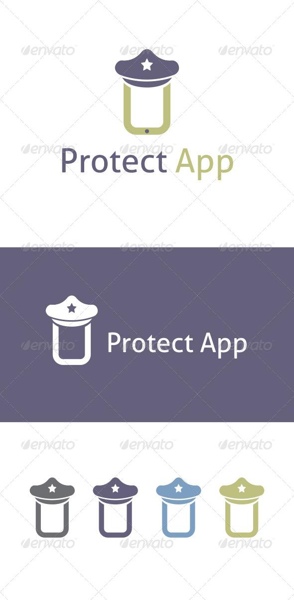 GraphicRiver Preotect App Logo Template 6340909