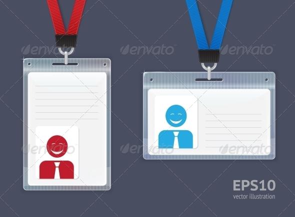 GraphicRiver Plastic ID Badges 6341142