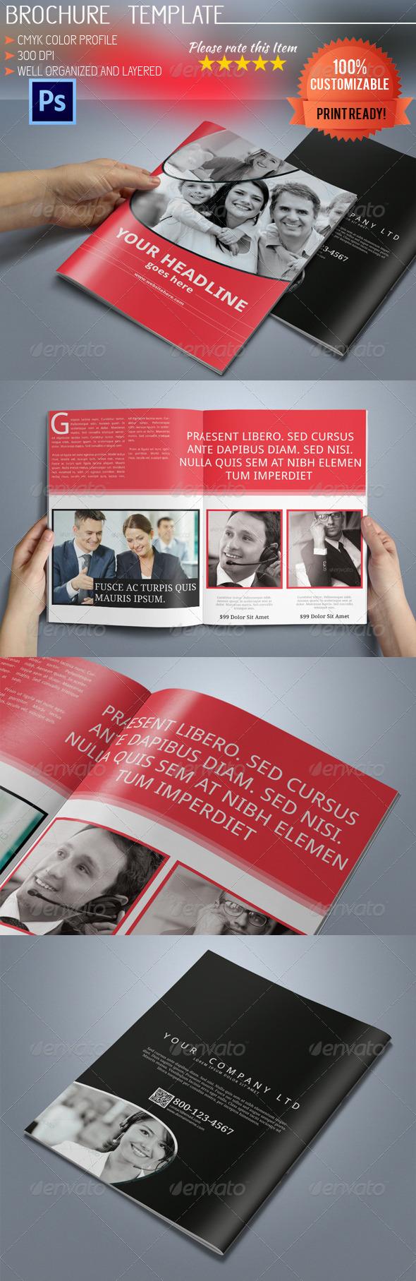 GraphicRiver Multipurpose Bi-Fold Brochure 6341545