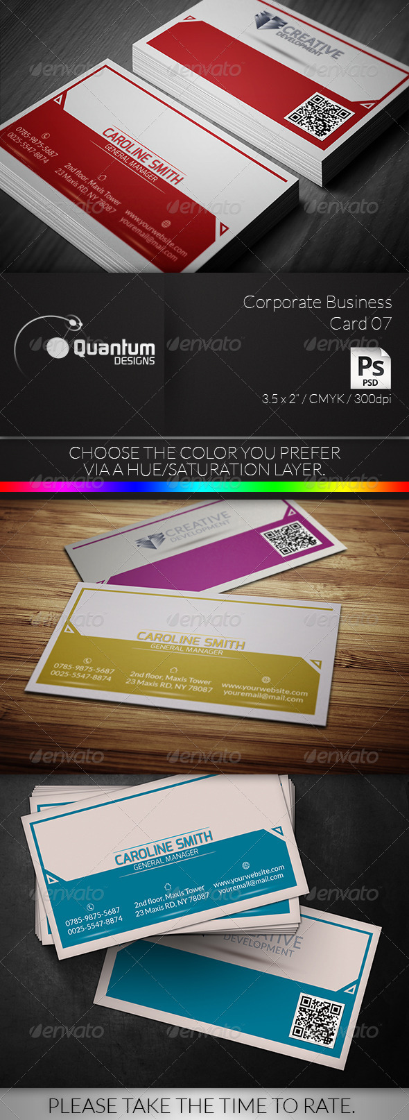 GraphicRiver Corporate Business Card 07 6279196
