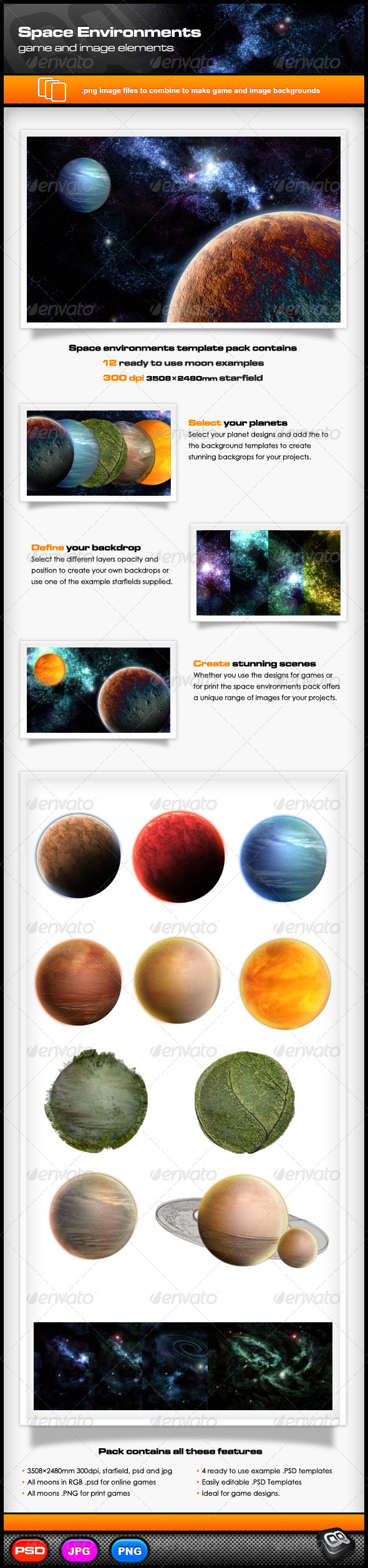 GraphicRiver Space Environments Vol 1 6326399