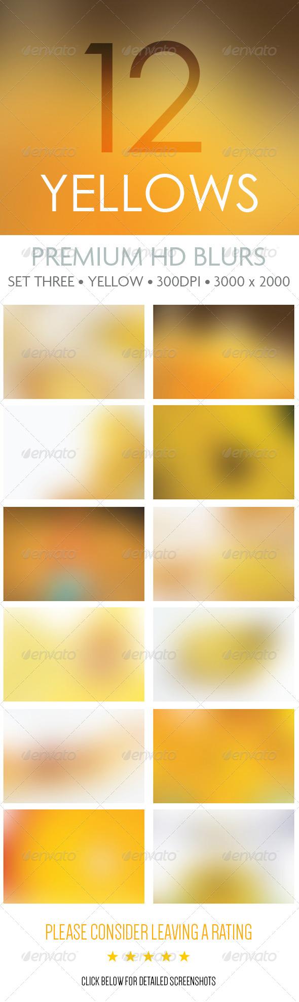 GraphicRiver Premium HD Blurs Set Three 6341717