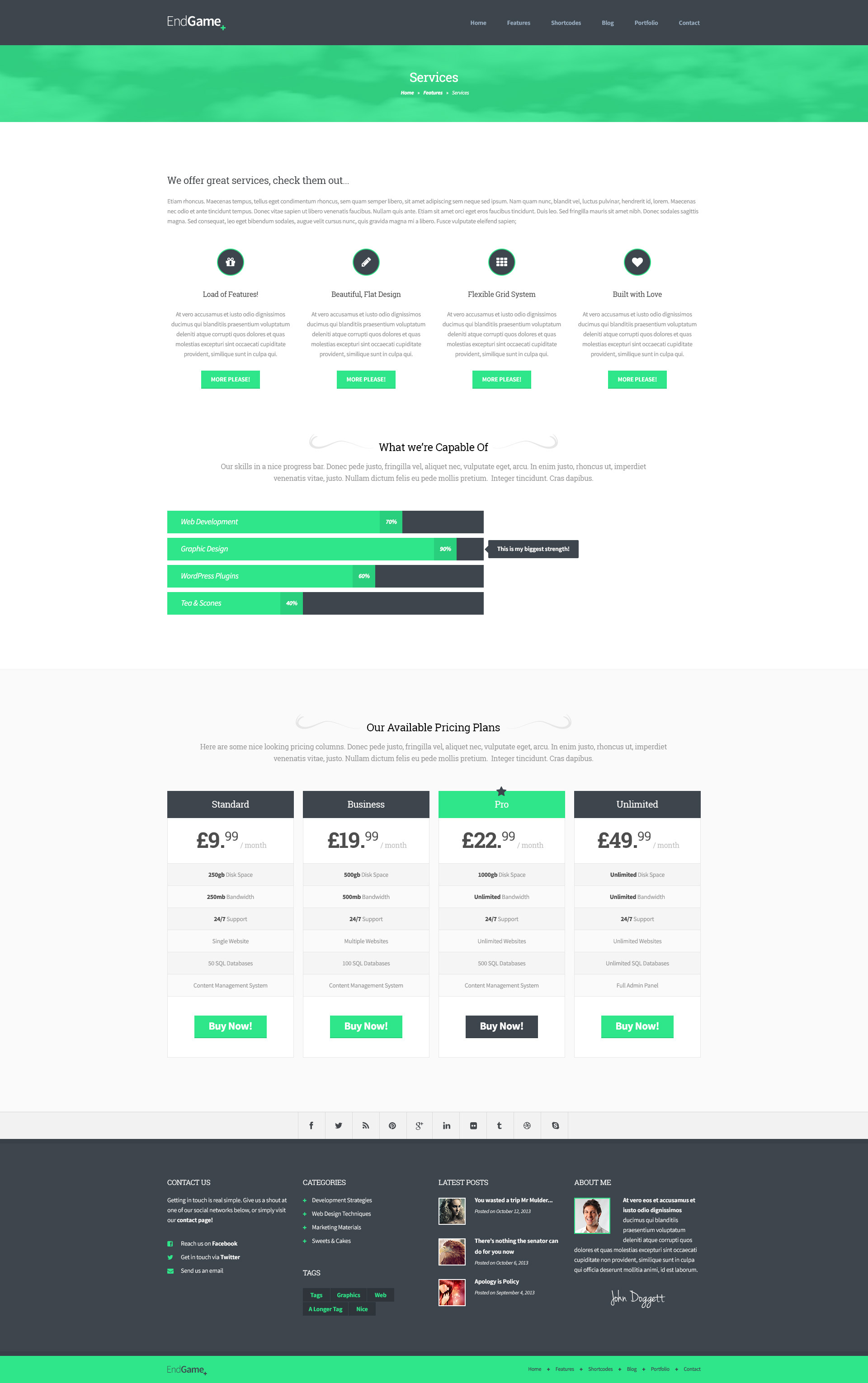 Comfortable 1 Page Proposal Template Huge 1 Page Resume Format For Freshers Square 10 Tips For Good Resume Writing 10 Window Envelope Template Old 100 Chart Template Purple2 Page Resume Header EndGame   Responsive, Retina Ready HTML Template By SubatomicThemes
