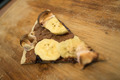 Dessert pizza with chocolate banana and marshmallow. - PhotoDune Item for Sale