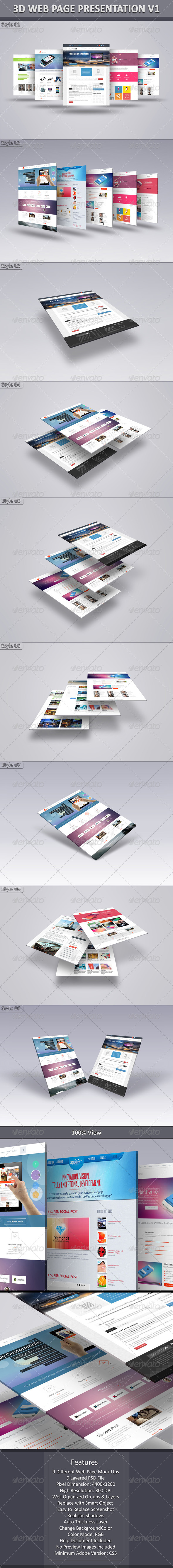 GraphicRiver 3D Web Page Presentation V1 6342693