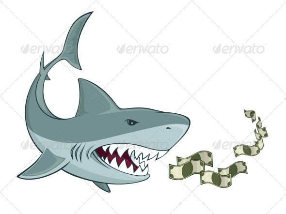 GraphicRiver Business Shark 6342993