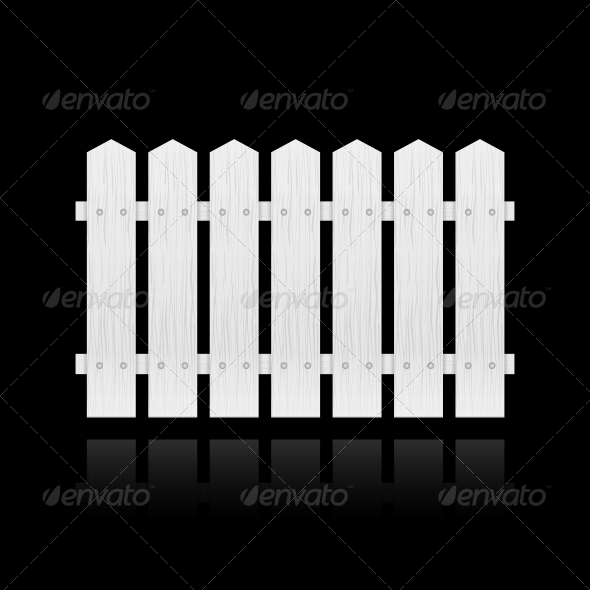 GraphicRiver White Fence Tile 6343000