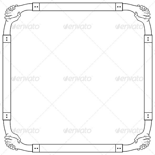 GraphicRiver Hand Frame 6343011