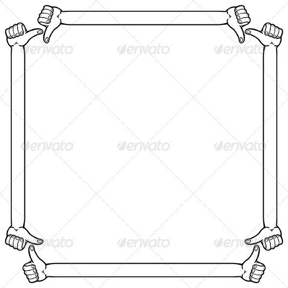 GraphicRiver Hand Frame 6343024