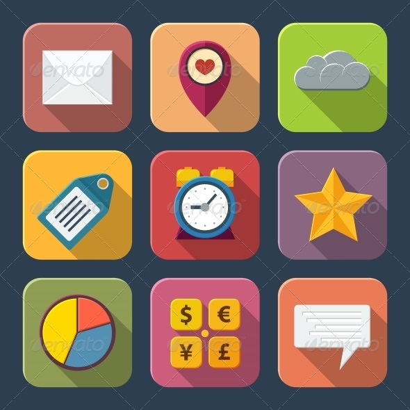 GraphicRiver Social Media Icons 6343036