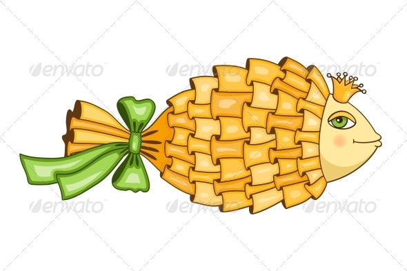 GraphicRiver Goldfish Symbol 6343042