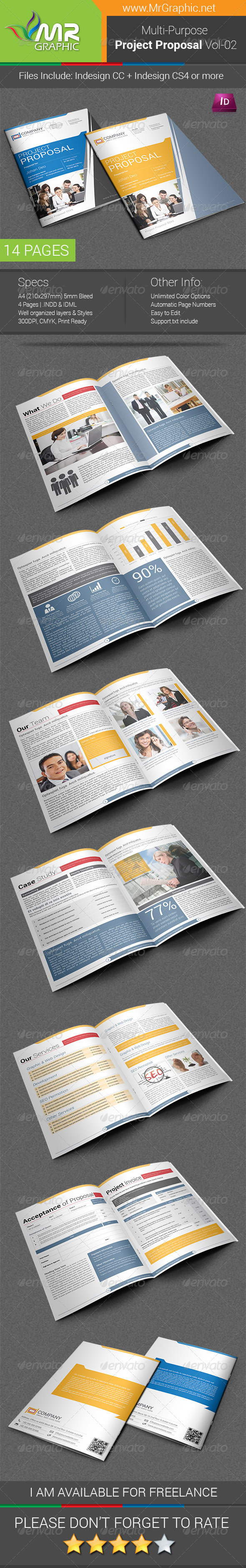 GraphicRiver Project Proposal Template Vol-02 6343339