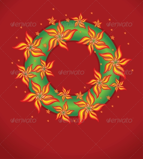 GraphicRiver Vector Christmas Garland 6344096