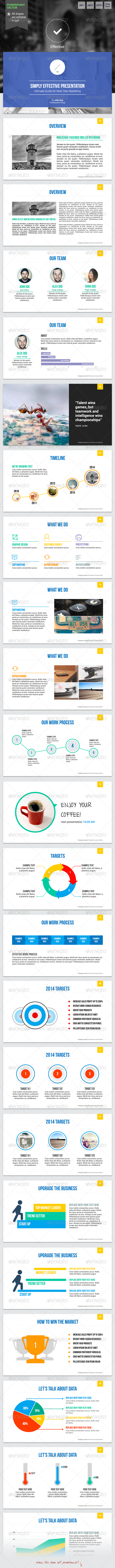 GraphicRiver Effective 2 Powerpoint Template 6344130