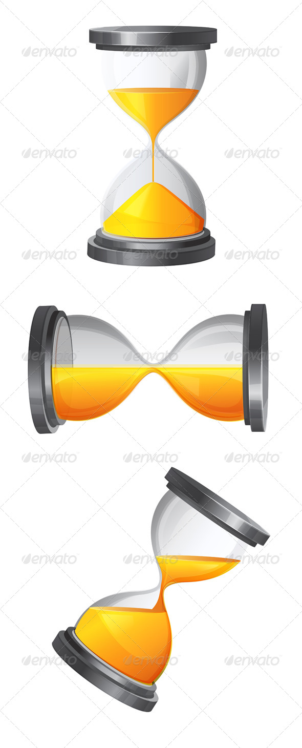 GraphicRiver Hour Glass Illustration 6344582