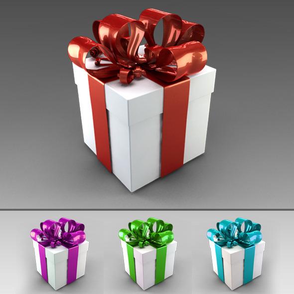 3DOcean Gift Box 6344702