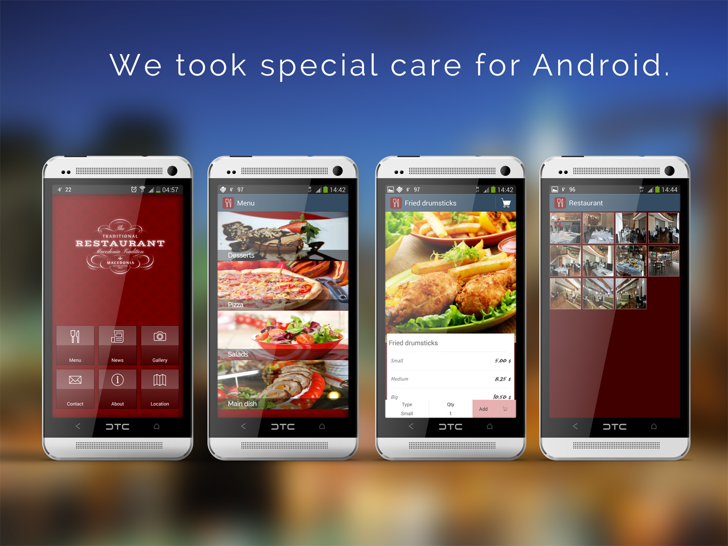 Restaurant app template by mobidonia codecanyon