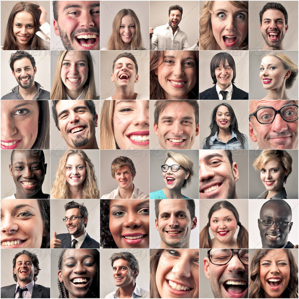 Happy People - Stock Photo - Images