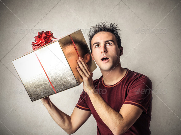 Mysterious Gift - Stock Photo - Images