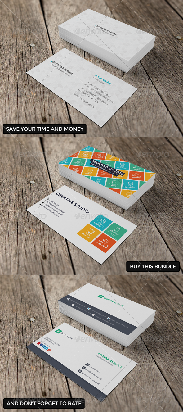 GraphicRiver Business Card Bundle 6345406